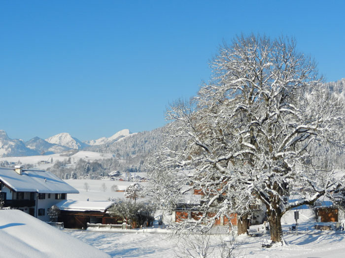 Wohnung Streichen Im Winter :  am Schmiedweg  Ferienwohnung in Reit im Winkl  Wohnung Nr 4